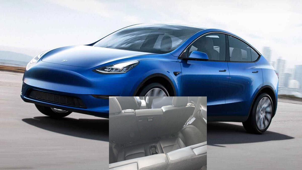 Deliveries For The Tesla Model Y 7 Seat Interior Start Early December Elon Musk Tesla Model Tesla Tesla Roadster