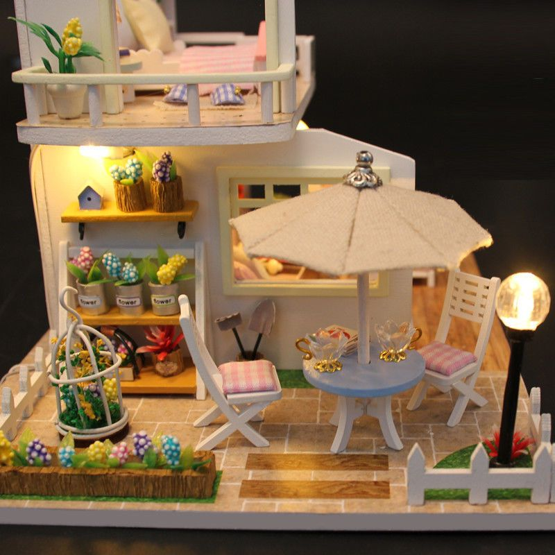 SURPRISE DOLL HOUSE Miniature Furniture Christmas Gifts USA SURPRISES!