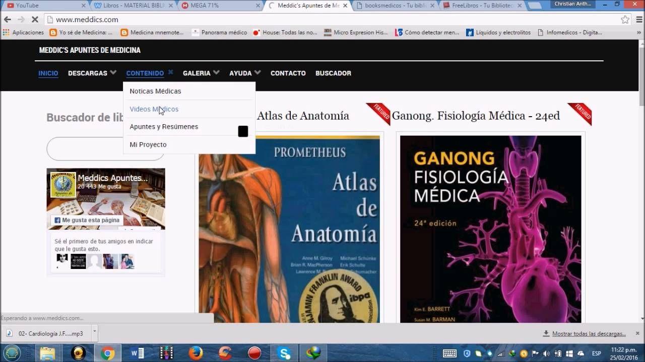 Las mejores paginas para descargar libros de medicina gratis ...