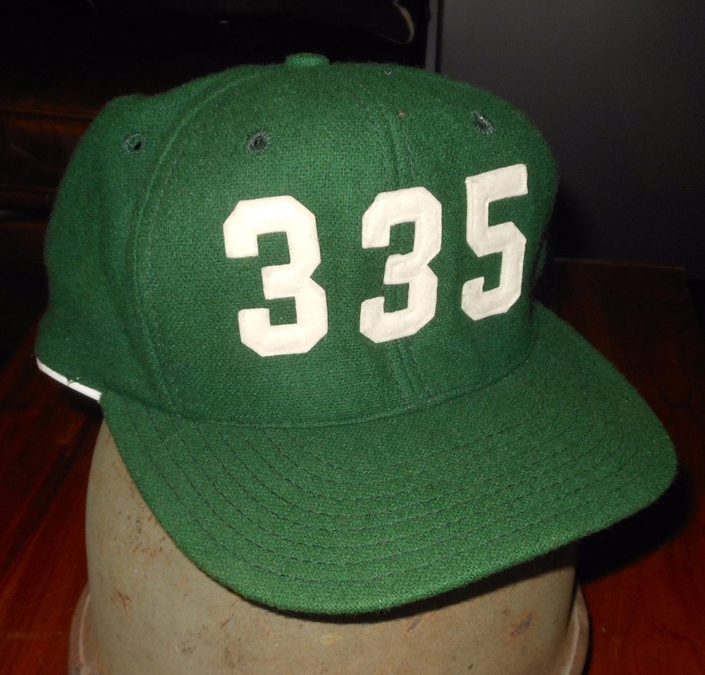 Rare Vintage USAF 335th Fighter Squadron Green Baseball Cap Hat AJD Air  Force 94acaf8015d