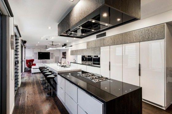 Detalles De Diseno De Una Moderna Cocina Contemporary Kitchen Home Kitchen