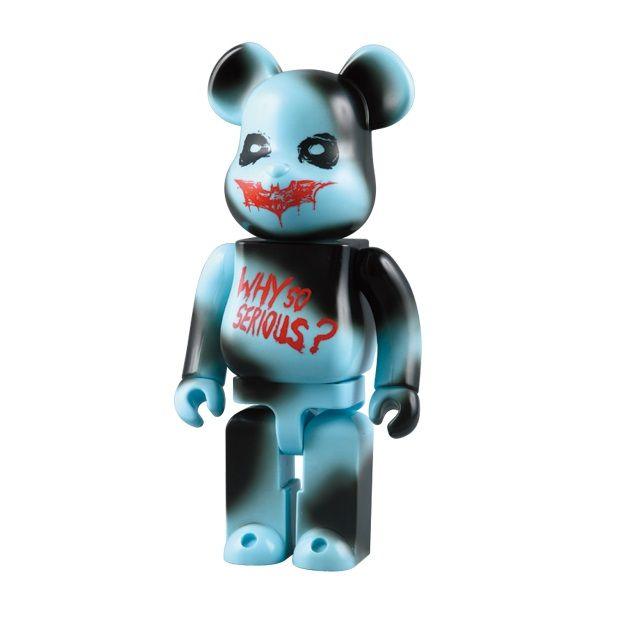 Medicom 400/% Bearbrick ~ The Joker Be@rbrick Why So Serious Version