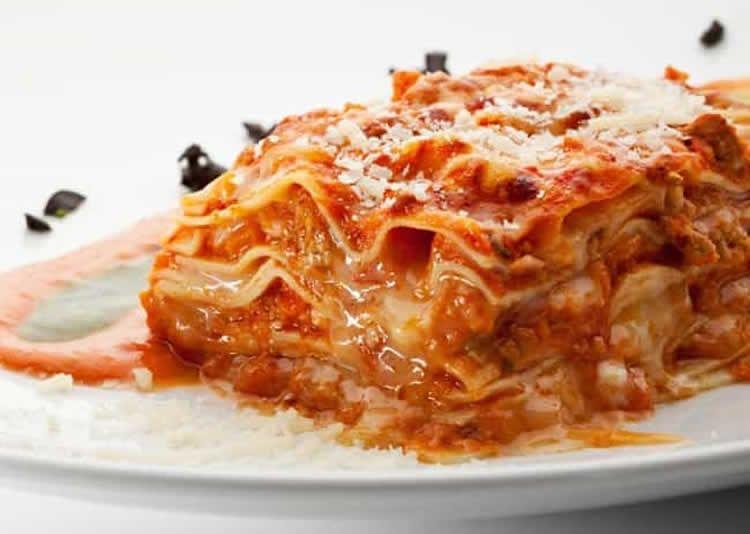 Recette lasagne poulet et parmesan ww – un diner 7 SP.