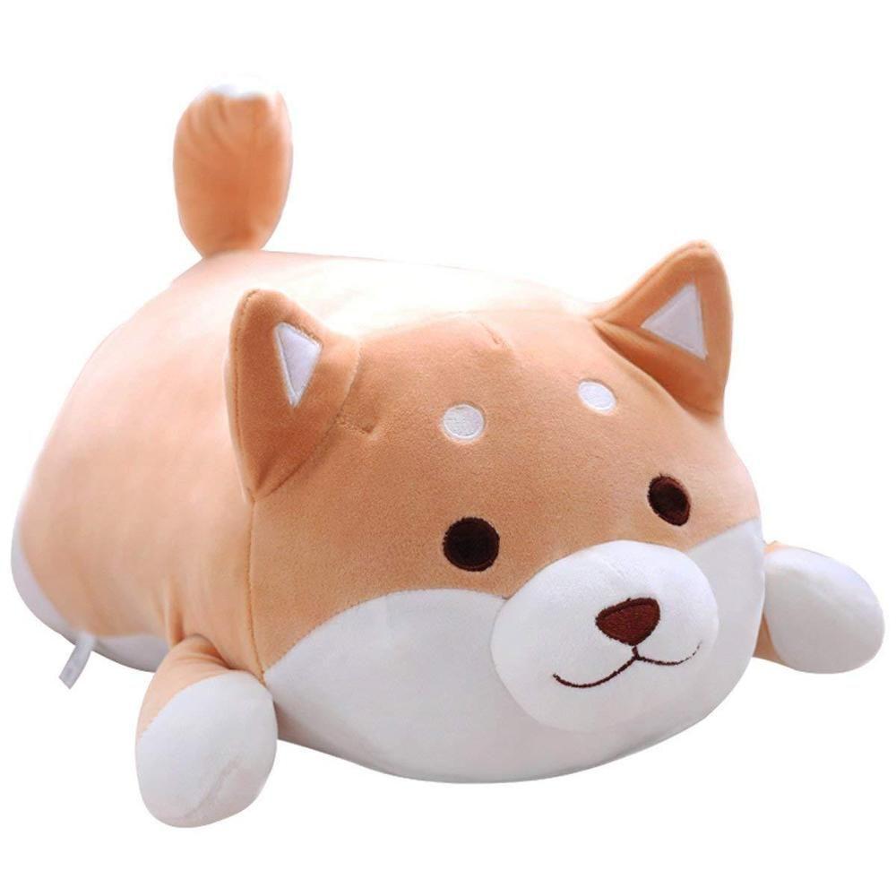 Shiba Inu Dog Plush Pillow Cute Corgi Akita Stuffed Animals Doll Toy Gifts Usa Unbranded Corgi Stuffed Animal Animal Pillows Cute Plush