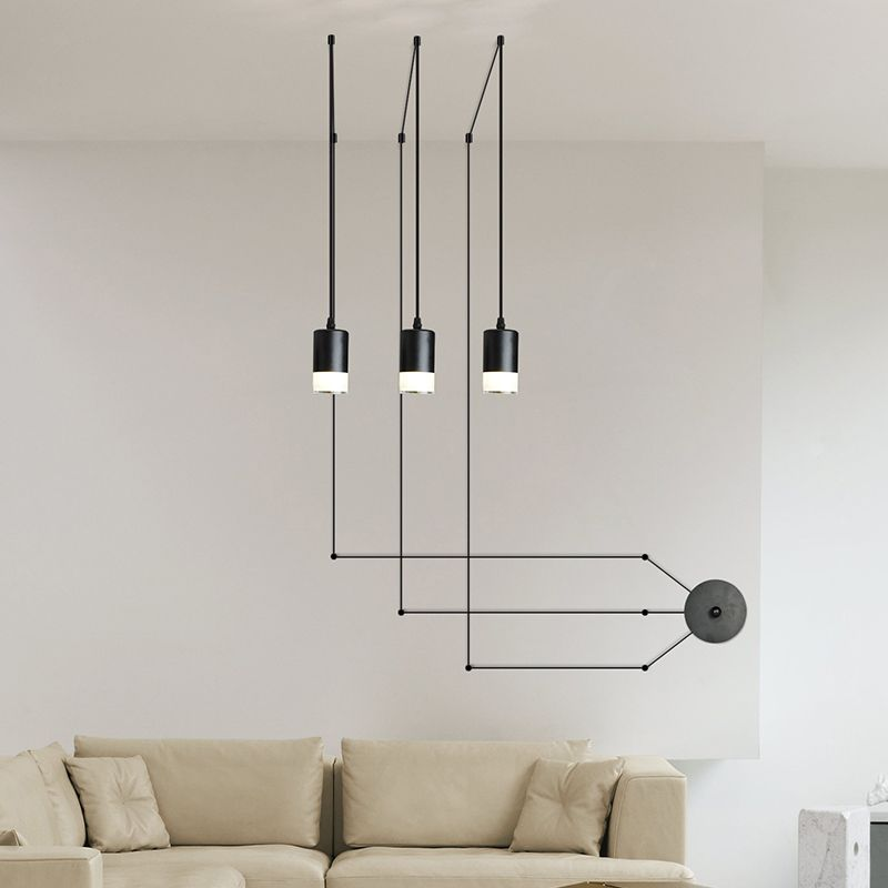 mordern nordic retro edison bulb light chandelier vintage loft antique adjustable diy e27 led. Black Bedroom Furniture Sets. Home Design Ideas