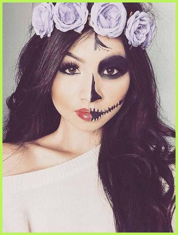 Split Personality - DIY Halloween Makeup Trends | Halloween ... | Makeup Trends #makeuptrends