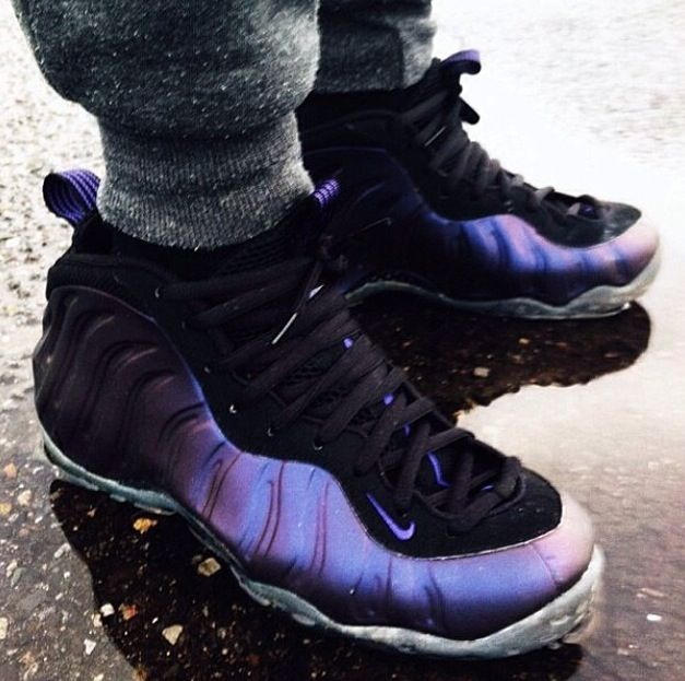 super popular 308fe 57a19 Foamposites   Eggplant