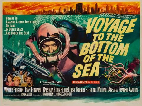 Voyage To The Bottom Of The Sea Movie Poster 24x36