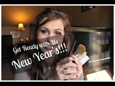 Get Ready With Me: New Year's Eve | Repressing the crazy I Beauty tutorial makeup