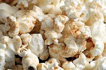 Homemade Microwave Brown Sugar Kettle Corn - An easy recipe for a crunchy, lightly sweet & salty snack