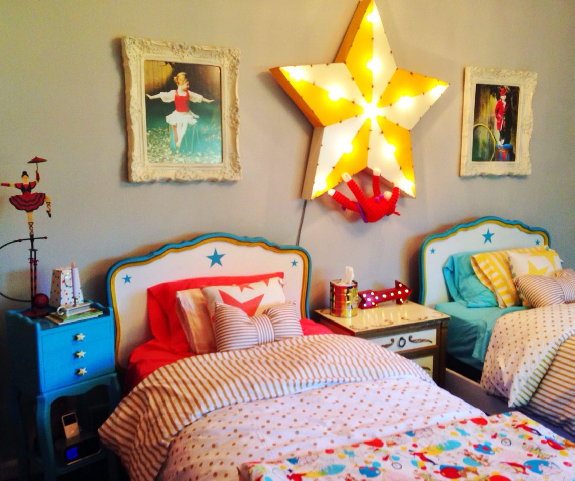 Ruby s rainbow room inspiration for kids bedroom decor at huggies - Circus Bedroom