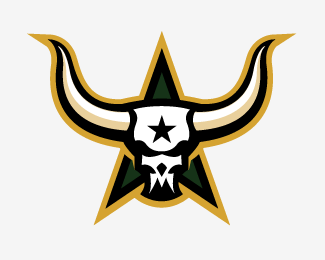 Dallas Stars Concept Logo By Matthiason Fantasy Football Logos