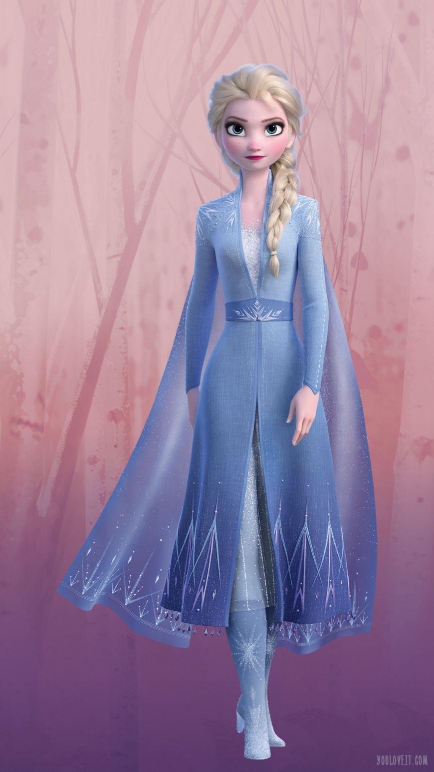 Frozen 2 Elsa Phone Wallpaper Disney Princess Elsa Disney Princess Frozen Frozen Disney Movie