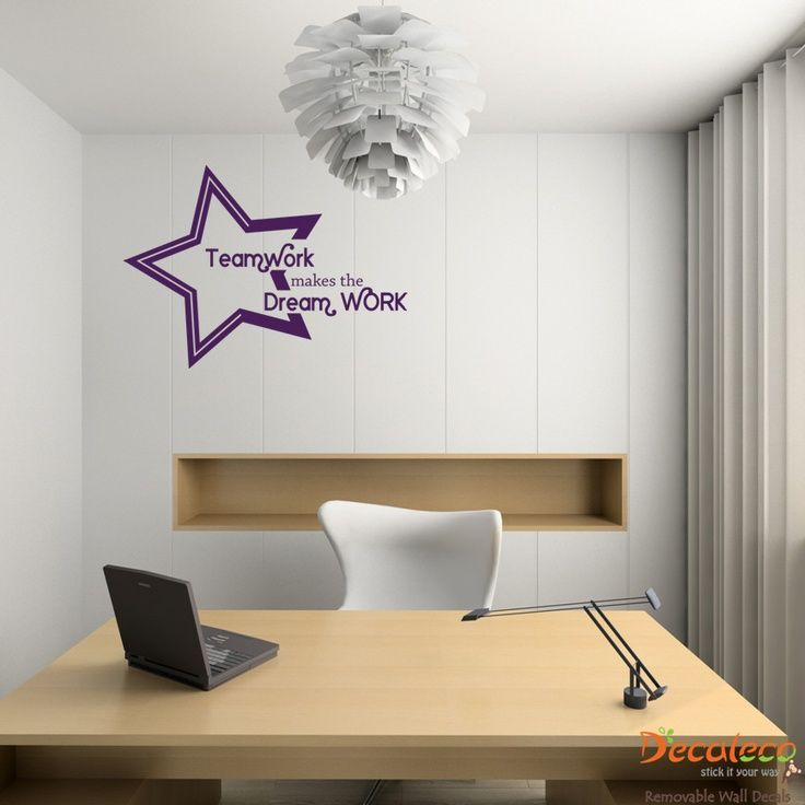 Your Office Look Contemporary Install This Modern Art Wall Sticker Meeting Room Bedroom Decor Stickers From