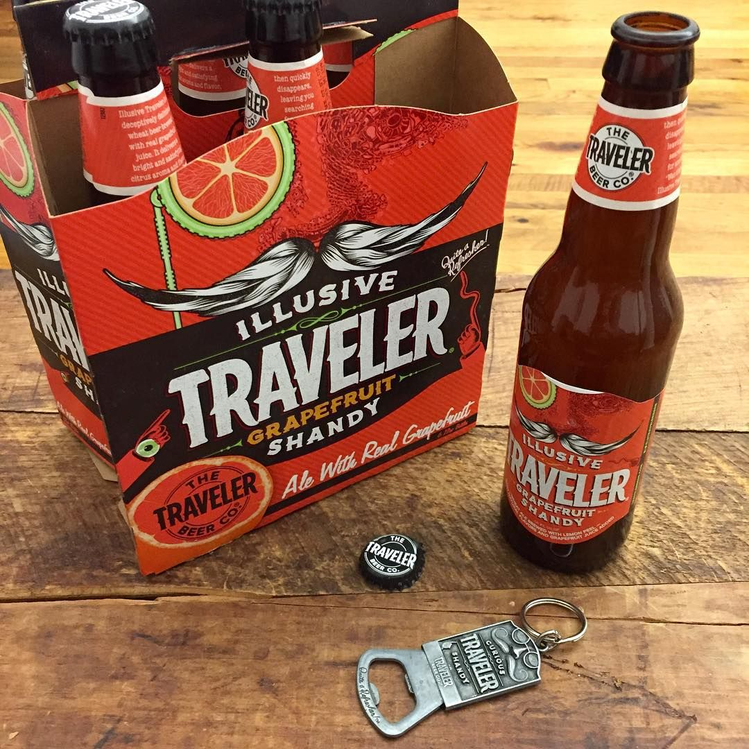 Traveler Grapefruit Shandy