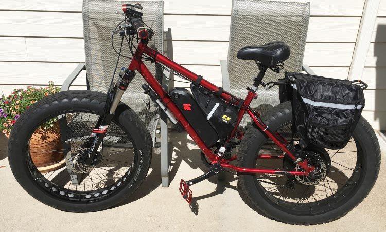 Heavy Weight Senior Builds His Own Ebike Electric Bike Ebike Bike