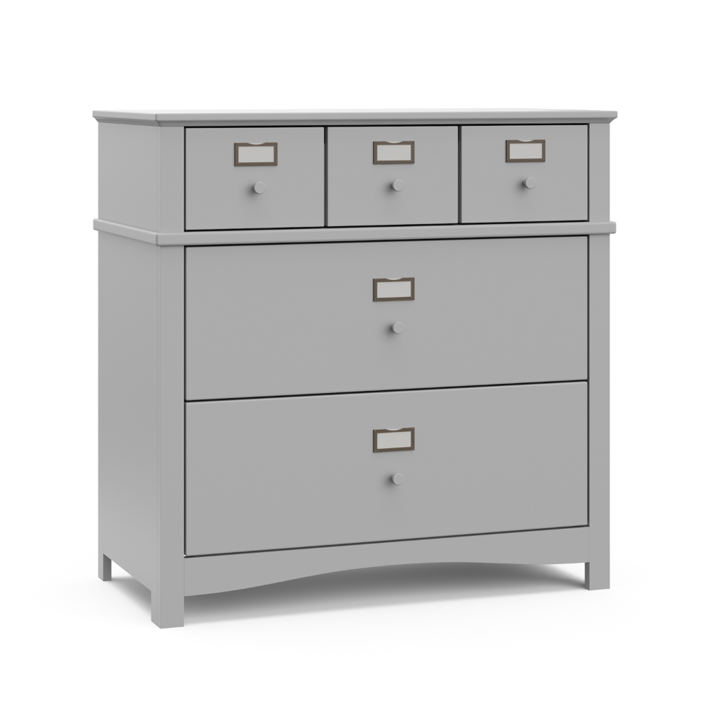 Graco Story 3 Drawer Dresser With Custom Drawer Labels Pebble Gray Walmart Com Drawer Labels 3 Drawer Dresser Dresser Drawers [ 1000 x 1000 Pixel ]
