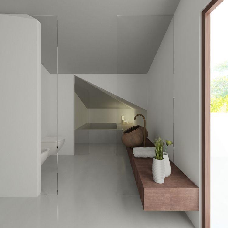 www.rddarchitecture.com White architecture. Minimalist interior design Attic Conversion