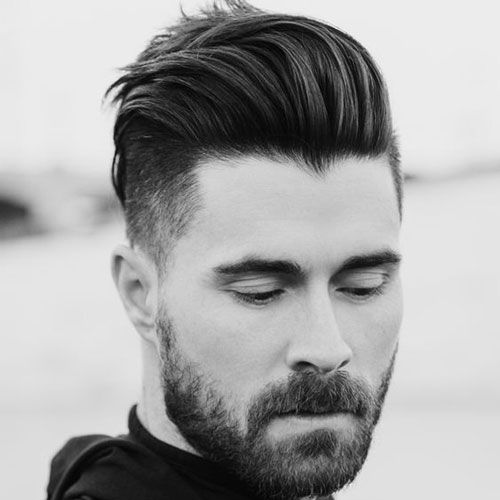25 Best Pompadour Hairstyles Haircuts For Men 2020 Guide Hipster Hairstyles Thick Hair Styles Round Face Men
