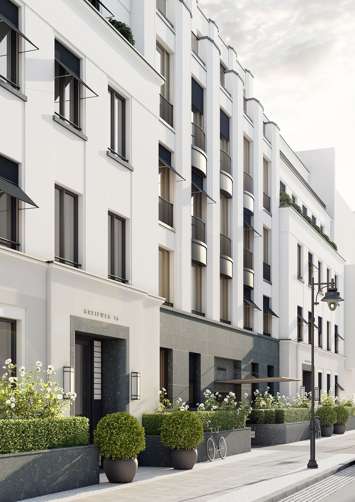 wohnbebauung mit 16 wohneinheiten d sseldorf in my. Black Bedroom Furniture Sets. Home Design Ideas