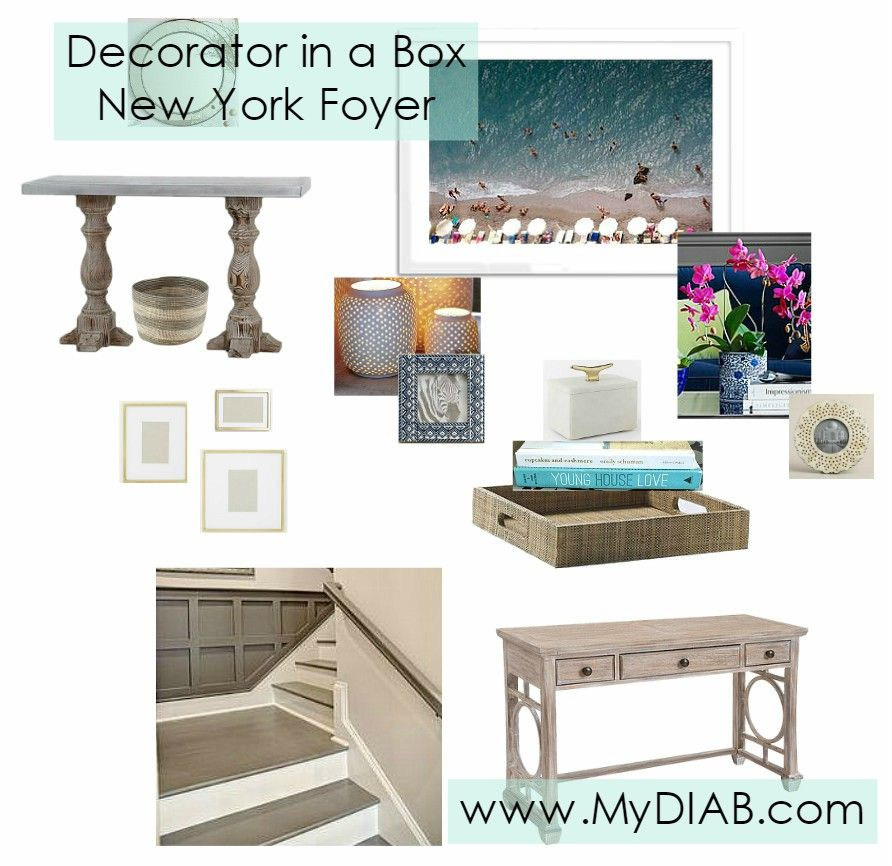 Decorator In A Box Unique Before & After  Decorator In A Box Ny Foyer  Decorator In A Box Design Inspiration