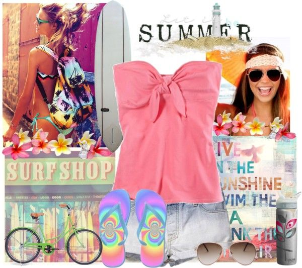 """Summer...."" by mharvey ❤ liked on Polyvore"