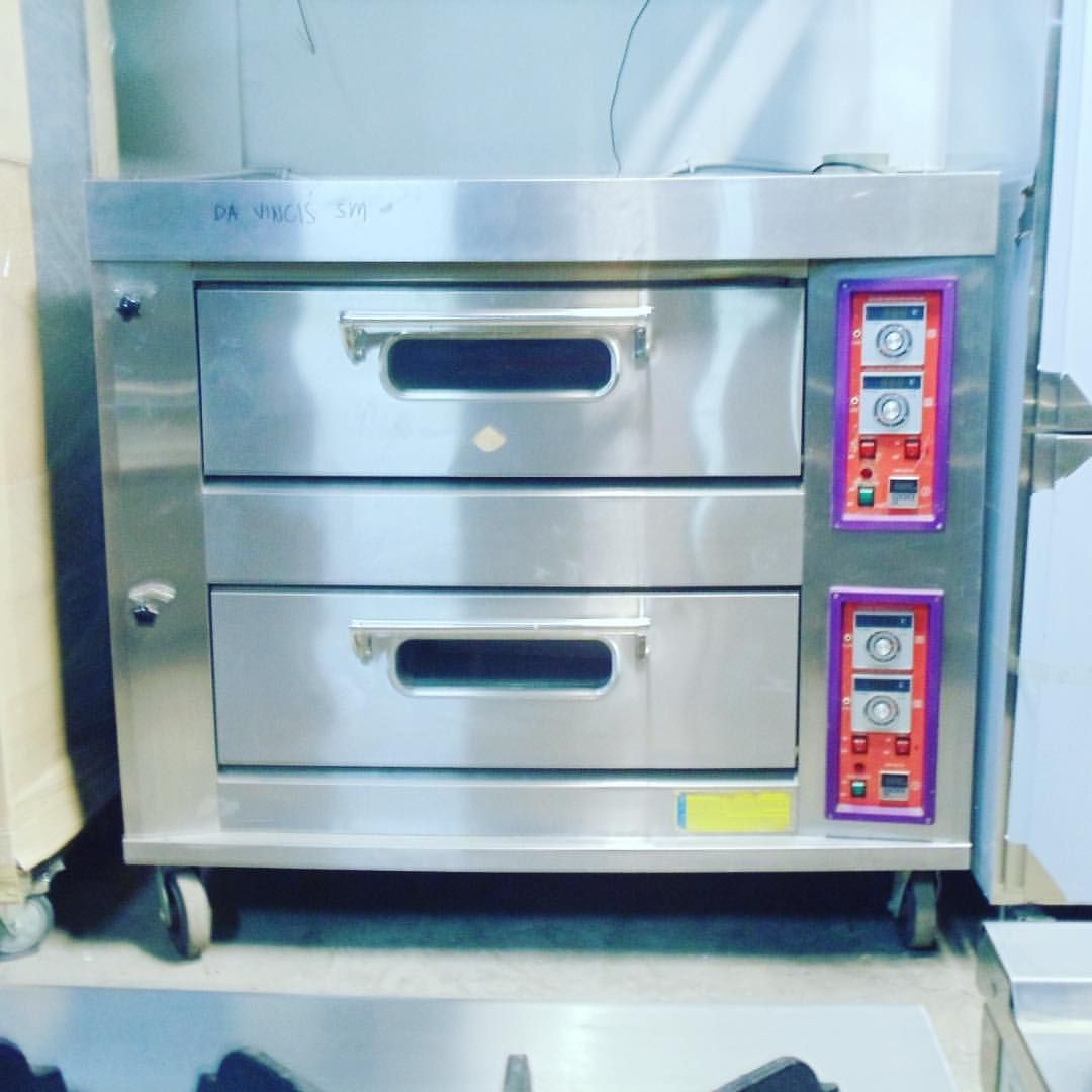 YXY-40A 2 deck LPG oven with 2 trays per deck capacity available ...