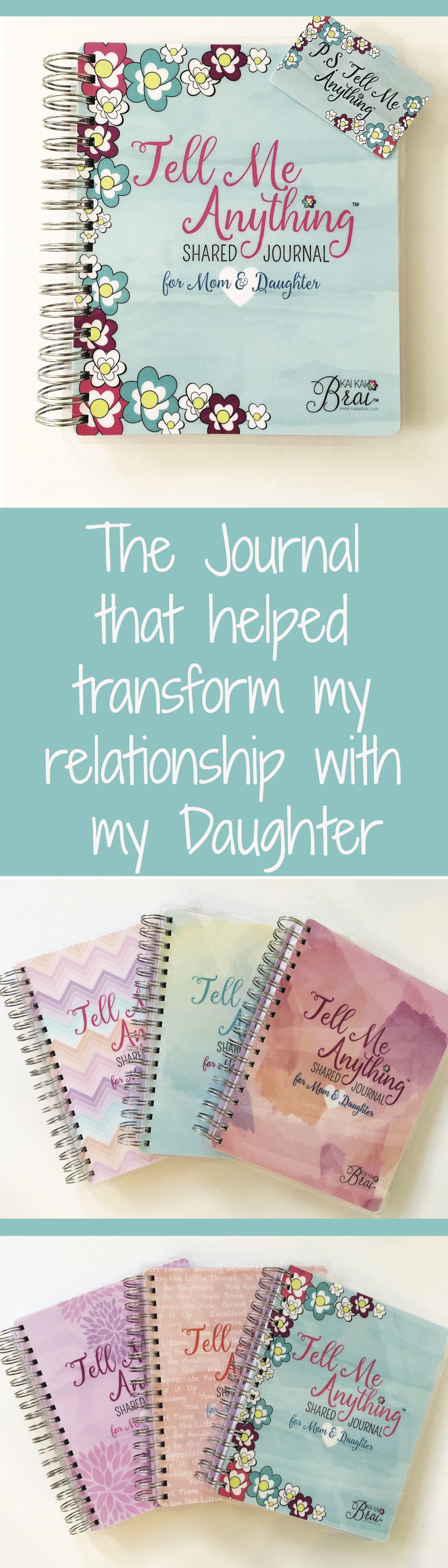 Mom Amp Daughter Tell Me Anything Shared Journal By Kai Kai