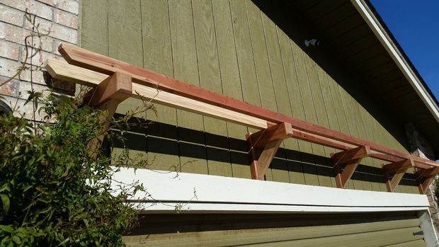 Garage Door Pergola Garden Art Garage Doors Garage