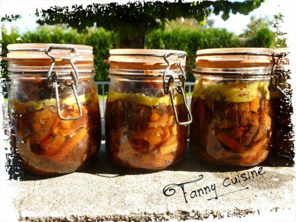 Bourguignon en bocaux conserves bocaux conserver en bocaux et recettes bocaux - Sterilisation plats cuisines bocaux ...