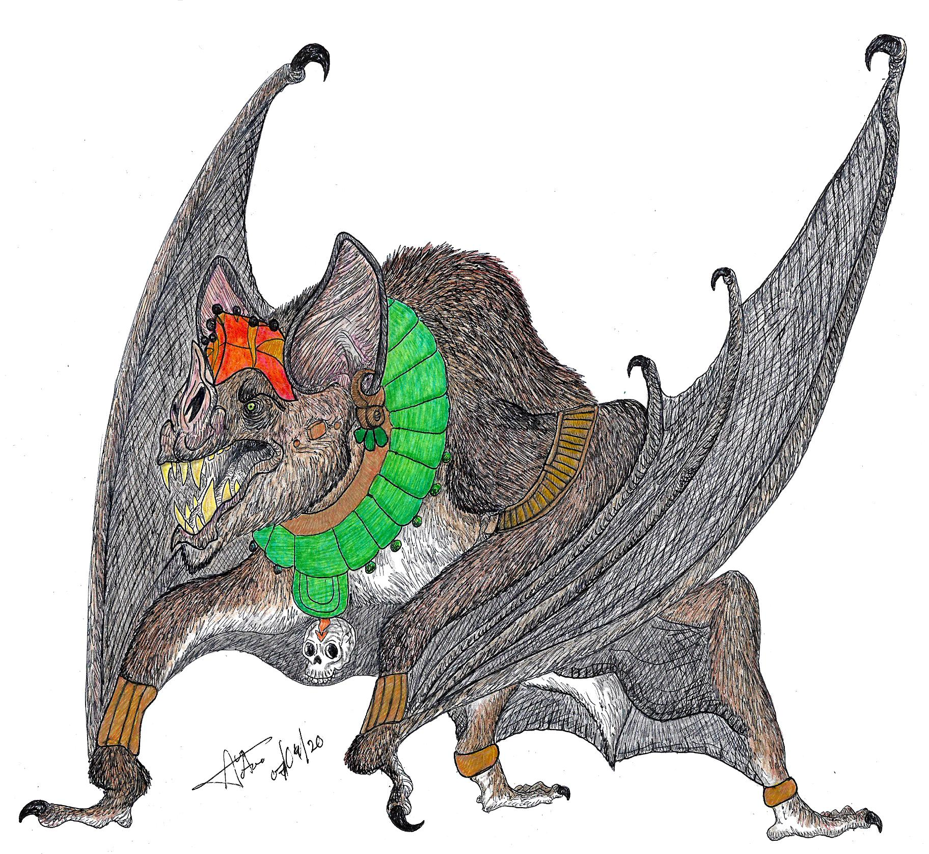 Camazotz By Ladalbarran2000 On Deviantart Drawings Of Friends Pictures To Draw Best Friend Drawings