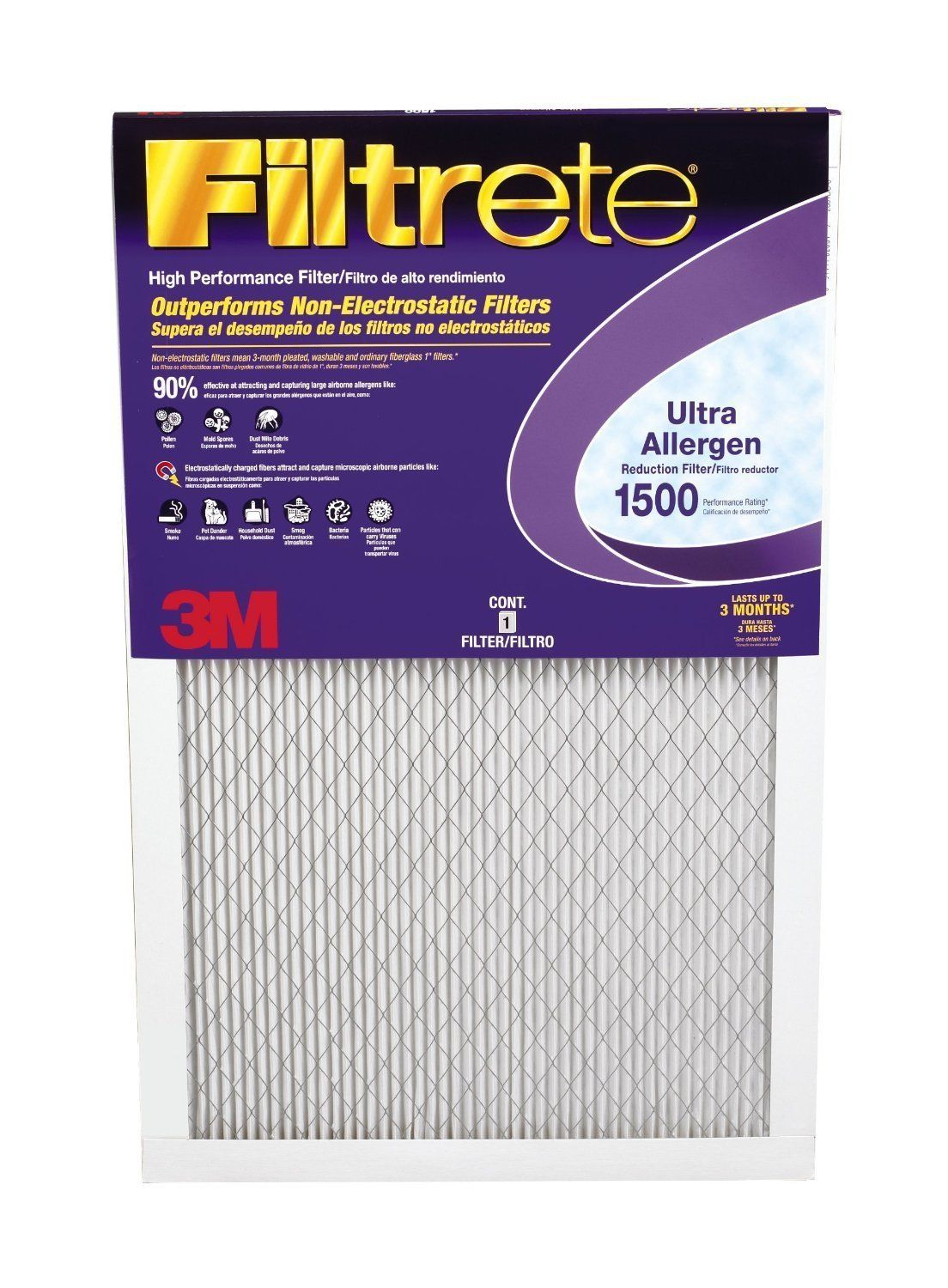 Filtrete Healthy Living Filters in the Gold Box! Furnace