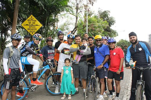 Bandra Cycling Club Carter Road 15 August And Two Street Photographers