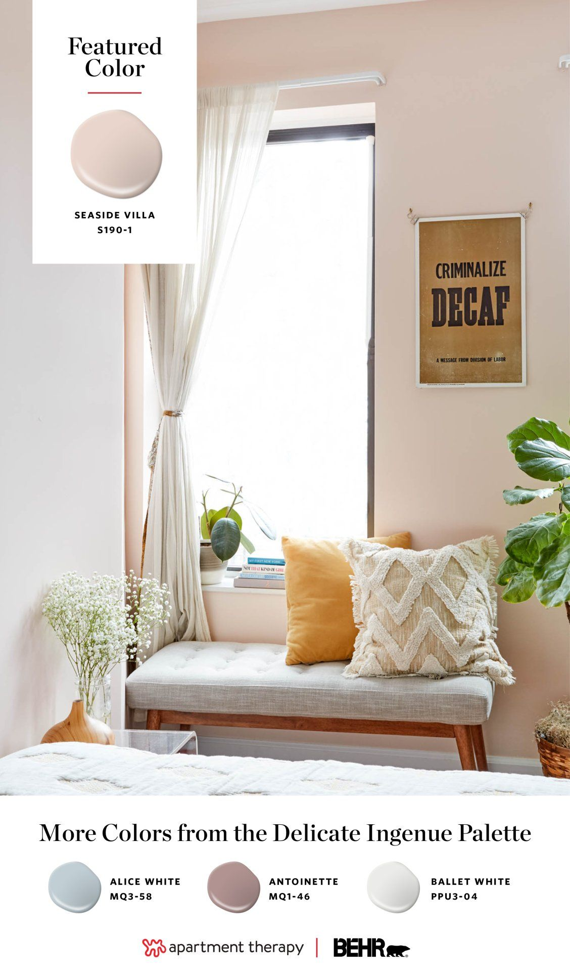 Why Pink Yes Pink Is The Perfect Neutral Bedroom Wall Colors Bedroom Colors Pink Paint Colors