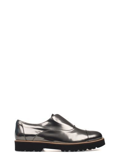 HOGAN Lead Route H259 Patent Leather Slip On Derby. #hogan #shoes #lead-route-h259-patent-leather-slip-derby