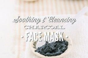 Photo of Soothing and Cleansing Charcoal Face Mask #CucumberFaceSkincare #TumericFaceMask…