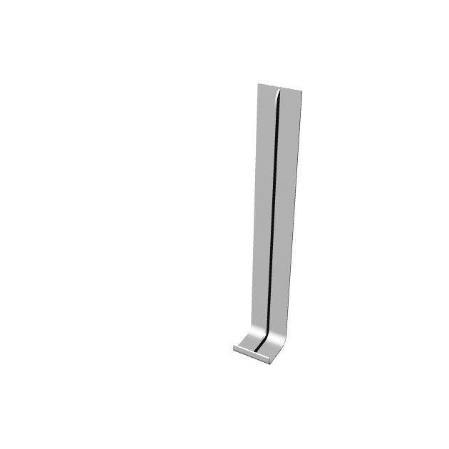 Jonction De Rive Pour Bandeau De Rive Flxx Lm Blanc Pvc L 300 Mm Renorive Blanc Bandeau Et Materiaux De Construction