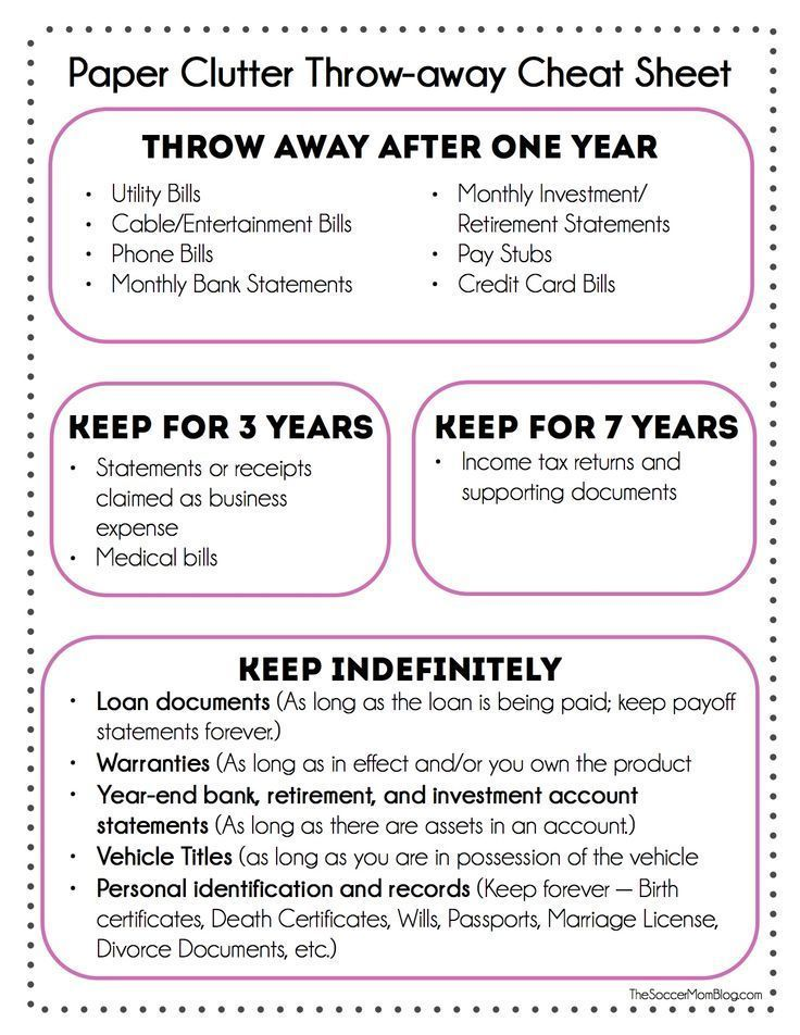 How To Get Rid Of Paper Clutter At Home Tossed, Free Printable   Printable  Divorce  Printable Divorce Papers For Free
