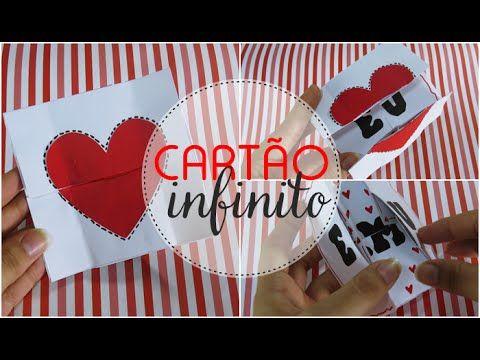 4852fb7dd150ae Cartão infinito - Presente criativo para dia dos namorados ...