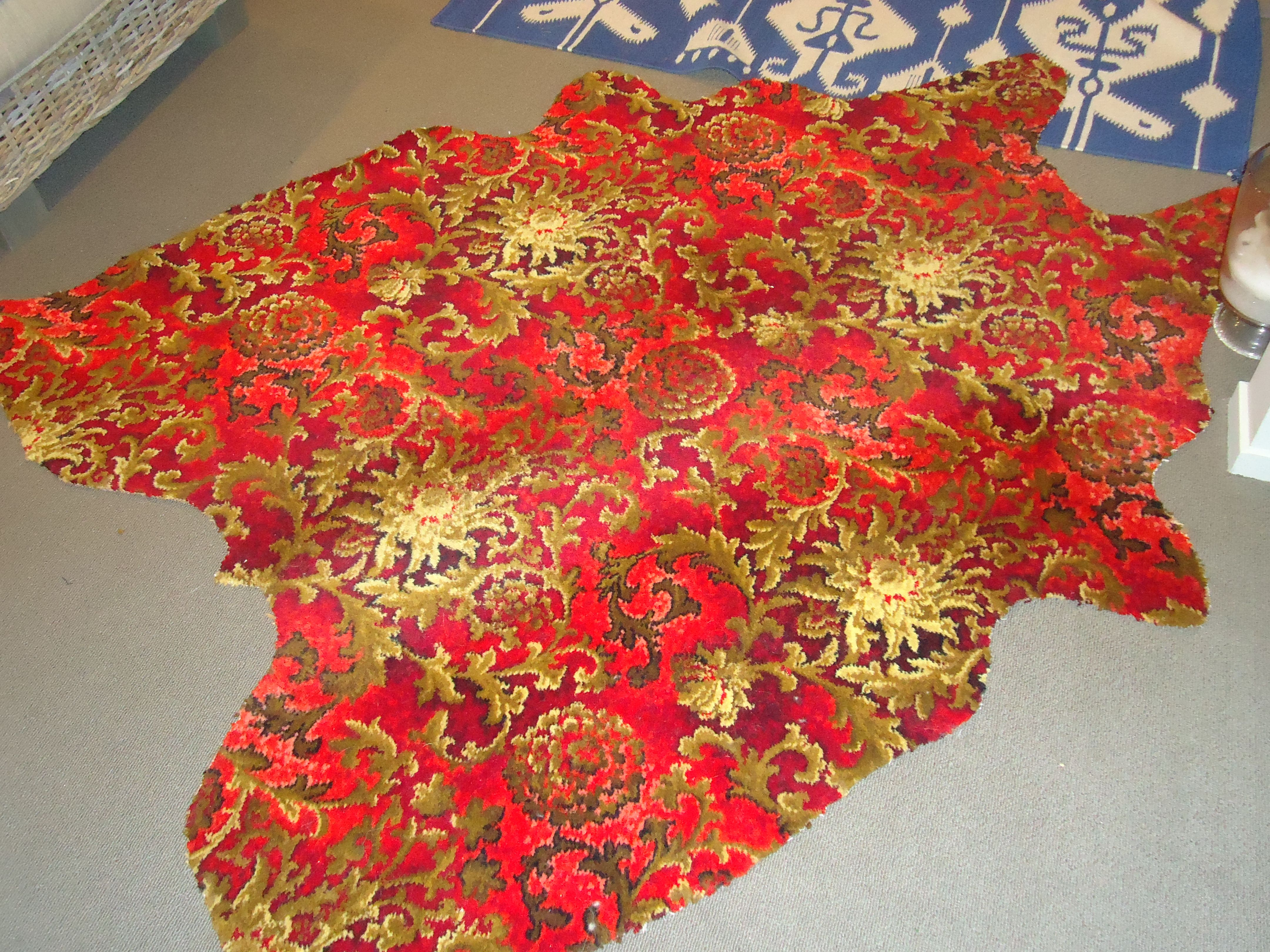 Red And Gold Axminster Carpet   Lets See Carpet new Design
