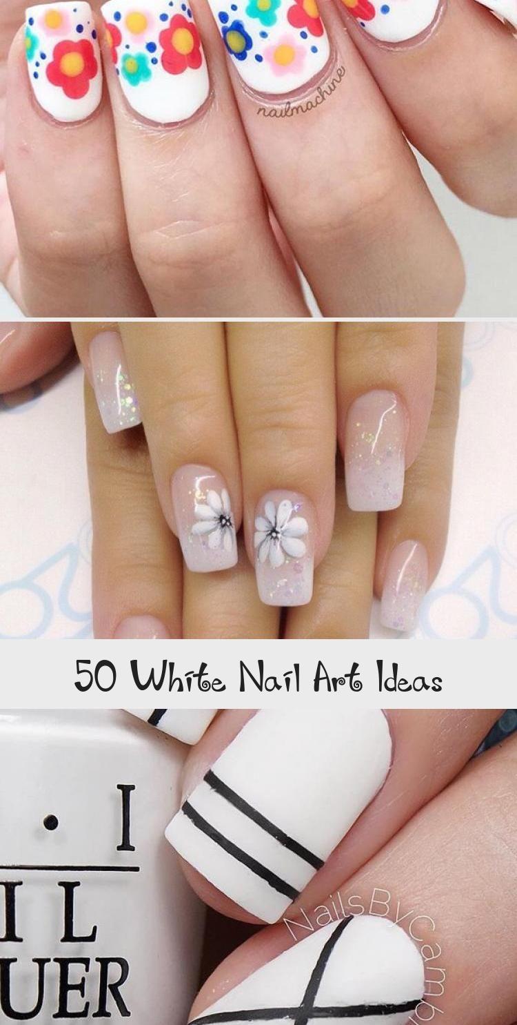 Photo of 50 White Nail Art Ideas – Nail Art