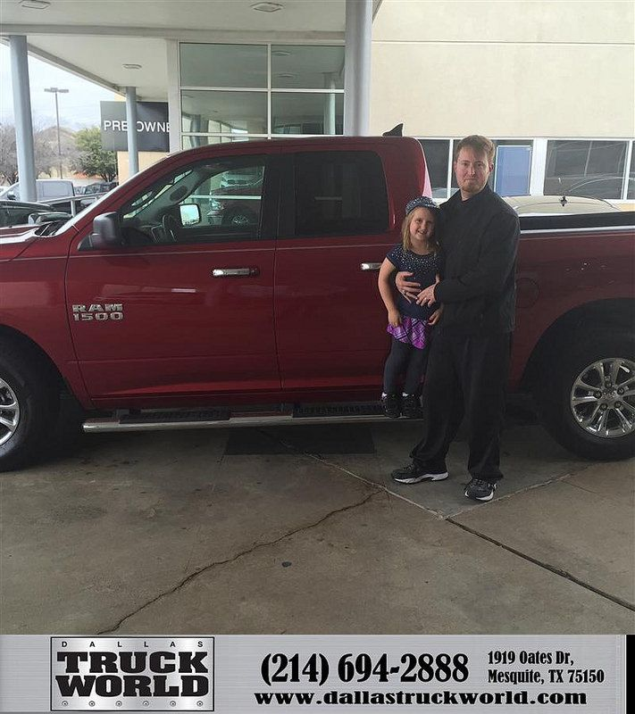 Congratulations to Warren Wheatley on your #Ram #1500 purchase from Jason  Thies at Dallas Truck World! #NewCar
