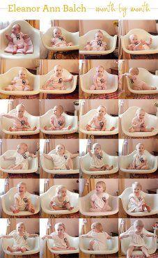 Ideas para fotos: Collage de bebés de 1 a 12 meses | Blog de BabyCenter
