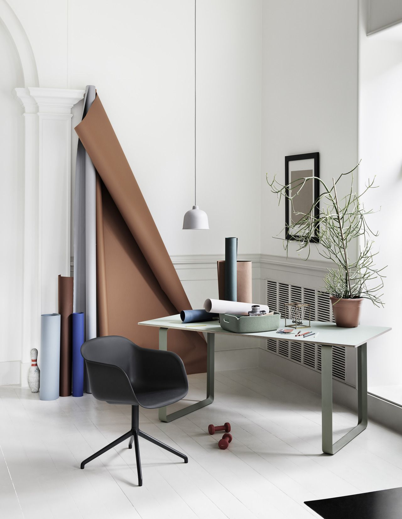 Muuto  scandinavian  design  home  inspiration  nordic  danish  furniture  muuto  scandinavian  design  home  inspiration  nordic  danish  . Living Room Desk Chair. Home Design Ideas