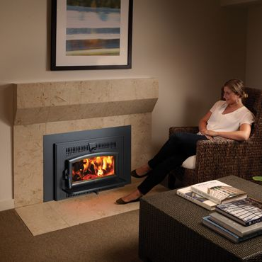 The Lopi Small Flush Wood Hybrid Fyre Insert Is Proud To