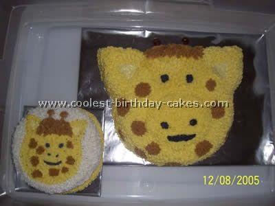 Coolest Giraffe Cakes and Birthday Cake Photo Gallery Giraffe