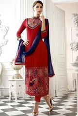 Scarlet Red Pant Kameez Set - https://www.ethanica.com/products/scarlet-red-pant-kameez-set-2