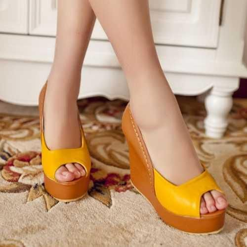 502672a136 Summer Comfortable Women's Platform Shoes | Shoes | Shoes, Block ...