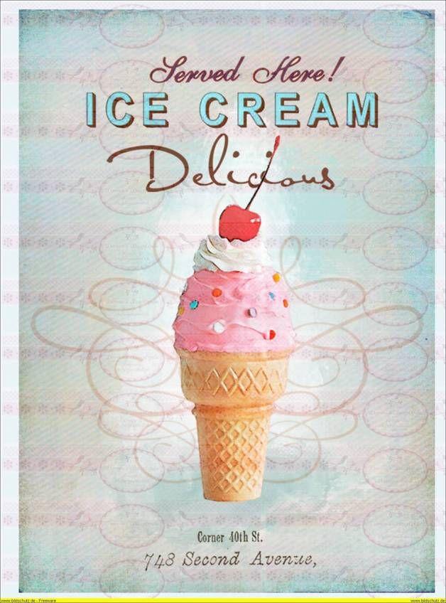 Risultati immagini per ice cream shabby