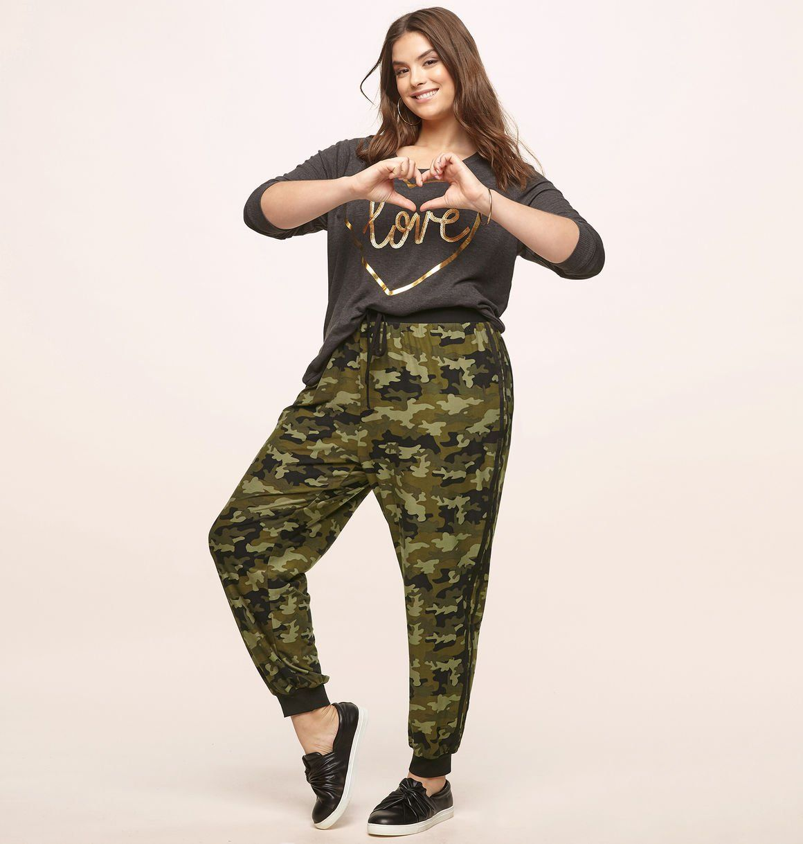 090c3189c2 Shop for new army looks like our plus size Camo Jogger available in sizes 14-24  online at loralette.com. Avenue Store